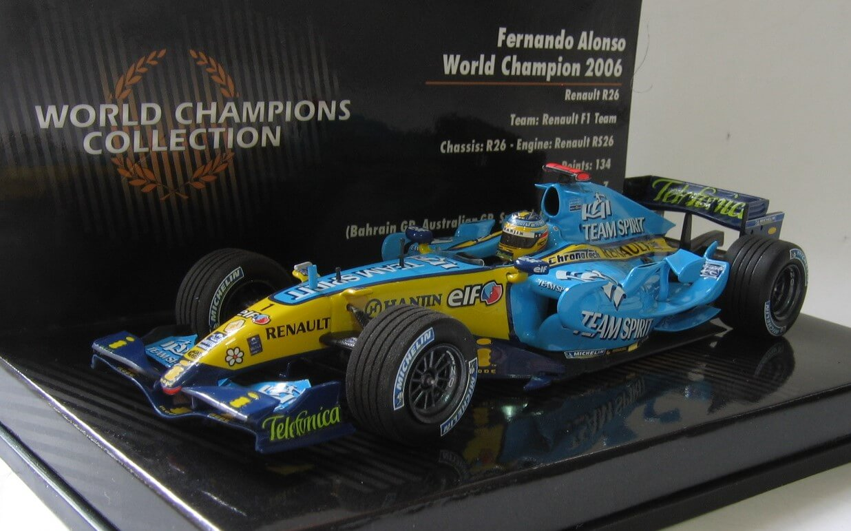 Renault R26 2006 Alonso