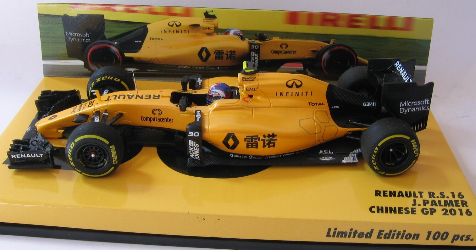 Renault R.S.16 Palmer Chinese GP